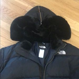 Large north face puffy coat